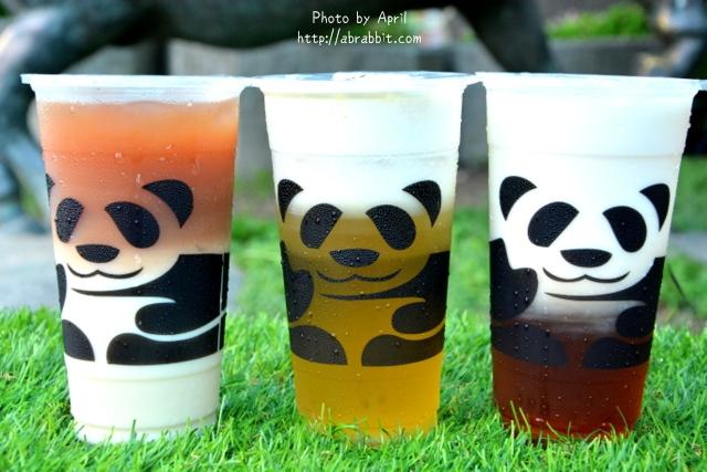 [台中]三軒茶屋一中店–萌死人的熊貓杯杯,老闆我要來一杯雙層熊貓的飲料啦!@一中街 尊賢街 北區