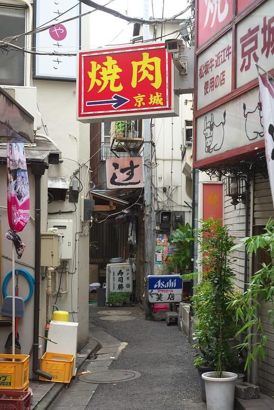 東京路地裏散歩 北千住 2016年6月25日