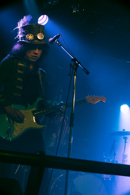 Coal Tar Moon live at Zher the Zoo, Tokyo, 06 Jun 2016 -00110