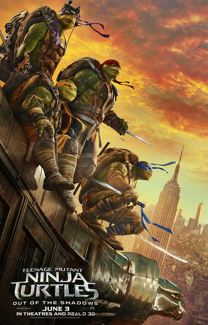 (2016) Teenage Mutant Ninja Turtles Out of the Shadows