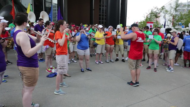 Pridefest Parade 2016-06-26 Video - National Anthem