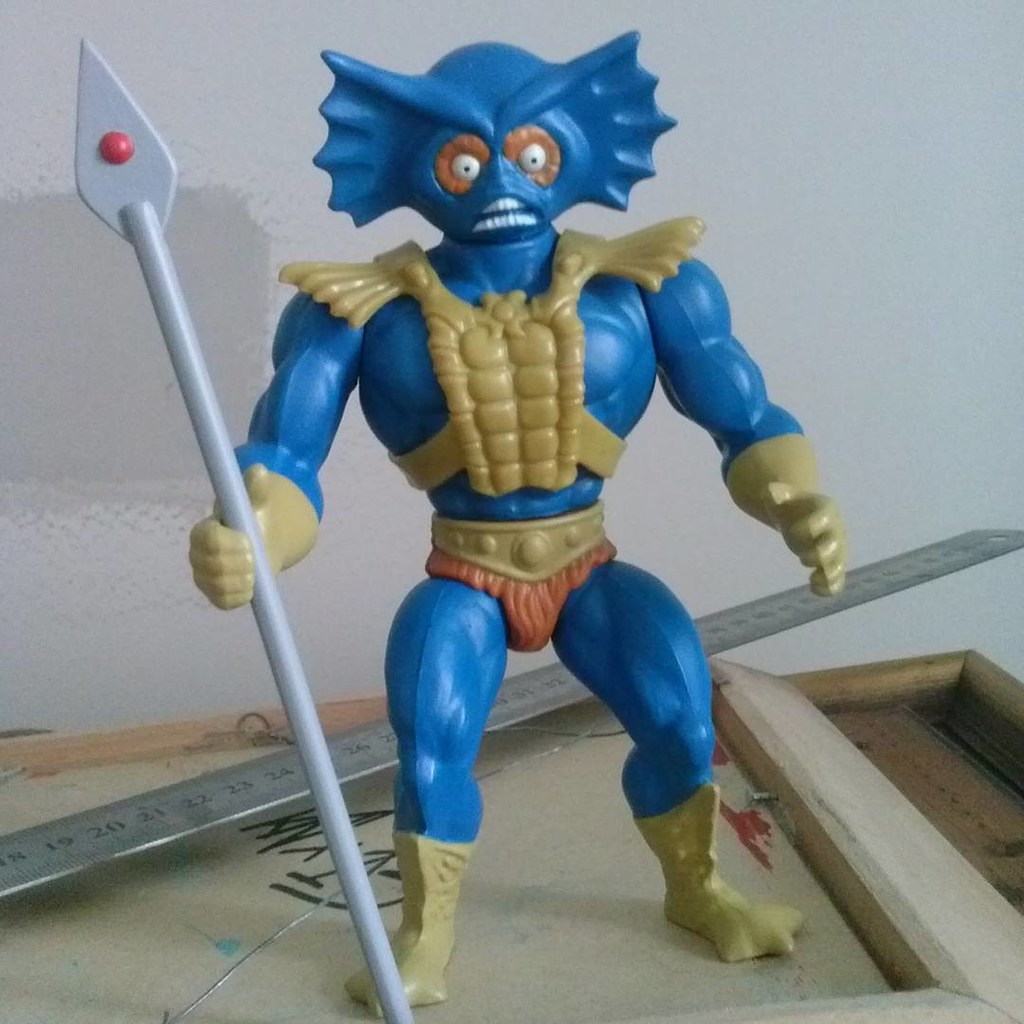 Custom action figures by Stolf - Merman