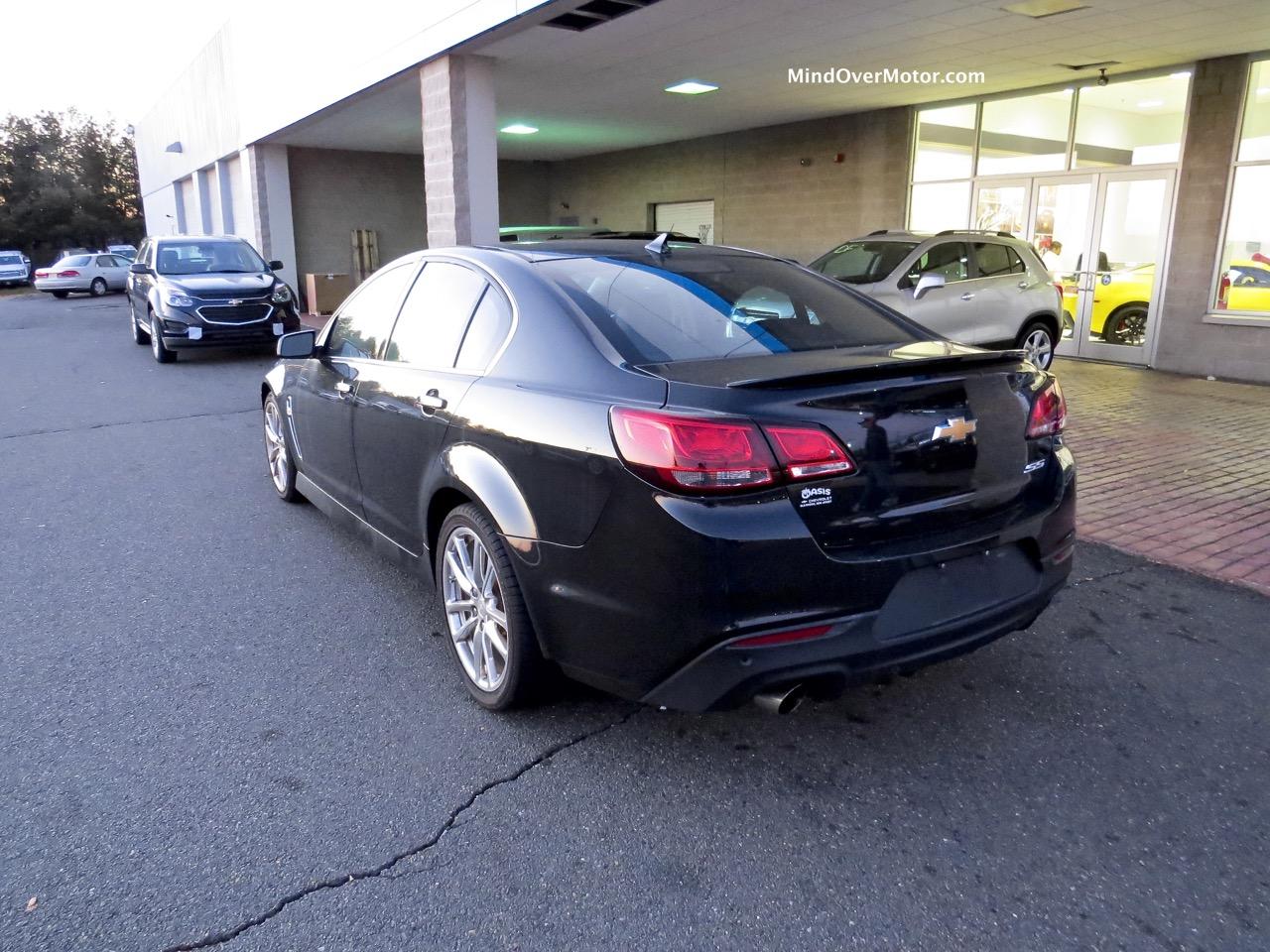 2014 Chevrolet SS Rear