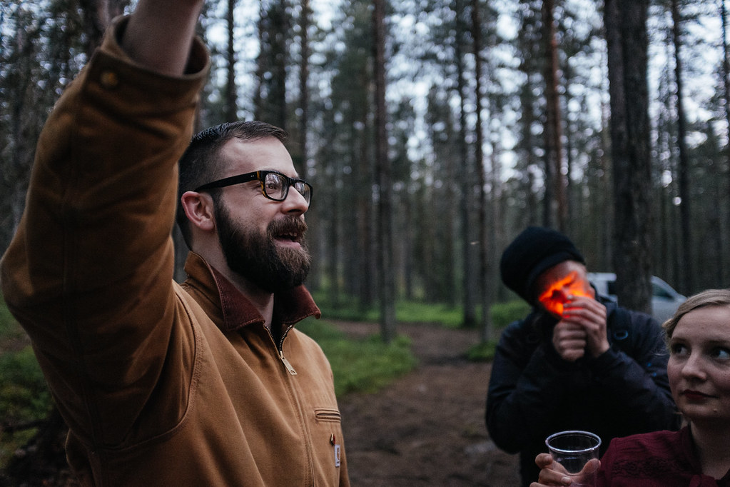 Alex Hammond. Photo: Antti Yrjönen for Midnight Sun Film Festival 2016