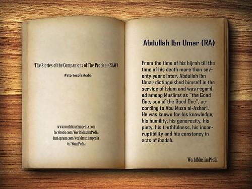 Abdullah Ibn Umar (RA)