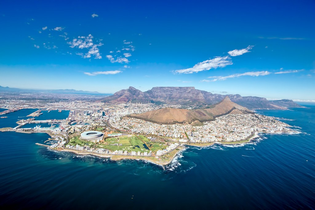 Cape town helicopter tours