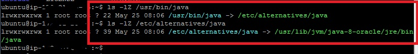 Java Installation path