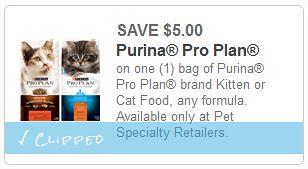 Purina Pro Plan Cat & Kitten Food