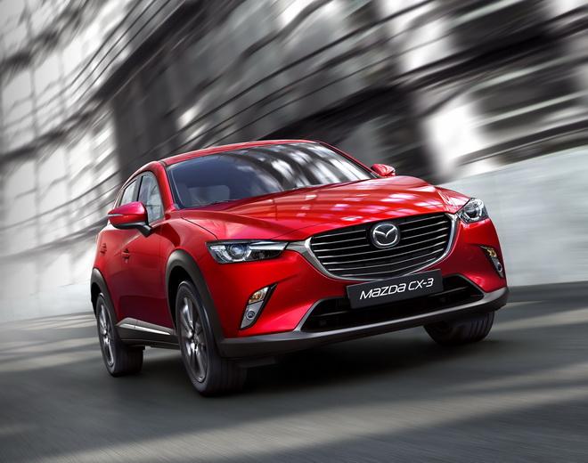 MAZDA CX-3再次以卓越的安全性能榮獲國際最高肯定,以最高五顆星之成績,在日本J-NCAP安全評等中,榮登本次受測車輛綜合評價分數之首。
