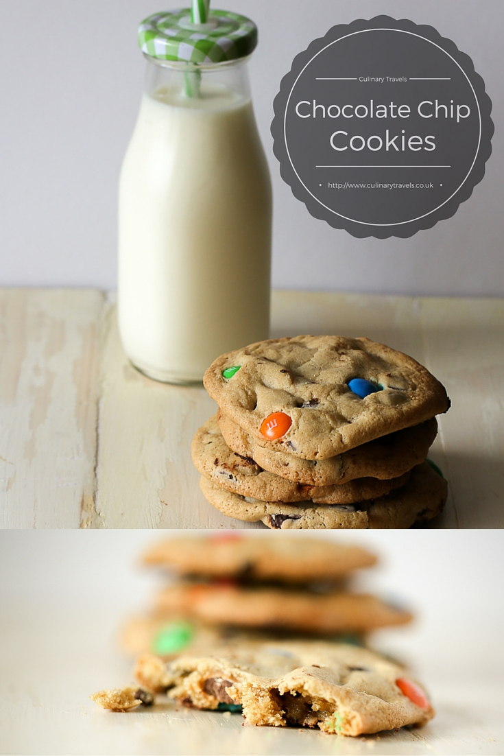 Culinary Travels | Georgina Ingham Pinterest Photograph Brown Butter Chocolate Chip Cookies: Soft, Squidgy, Plump, Gooey, Need I go on? The ultimate American Style Sweet Treat
