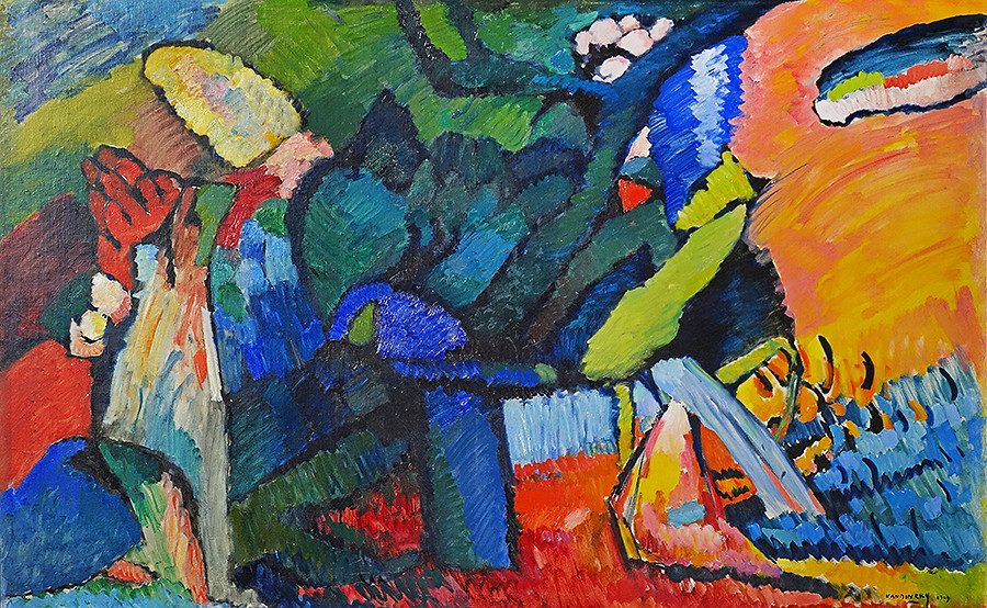 Russian avant-garde 37_Kandinsky