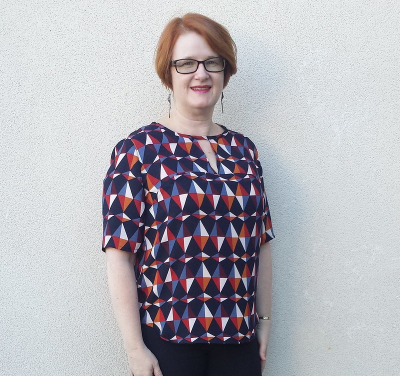 Style Arc Dixie top - Autumn DCF Challenge