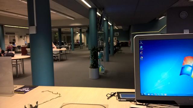 Een dagje balie in het Mediacentrum Windesheim