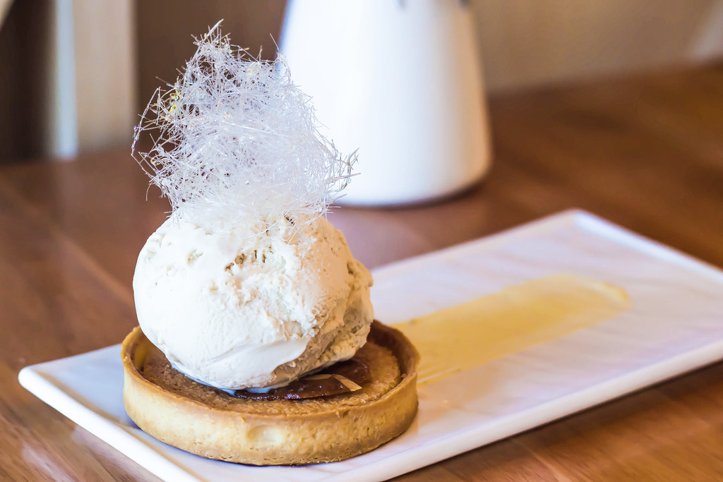 Ice Cream Desserts: Geometry's Earl Grey Tie Guan Ying