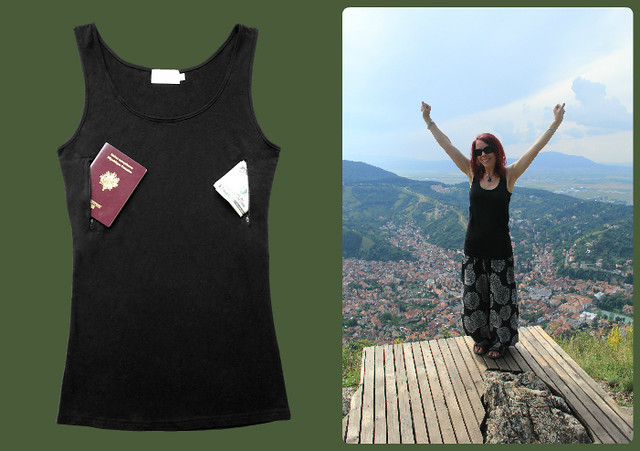 Clever Travel Companion vest top, Brasov