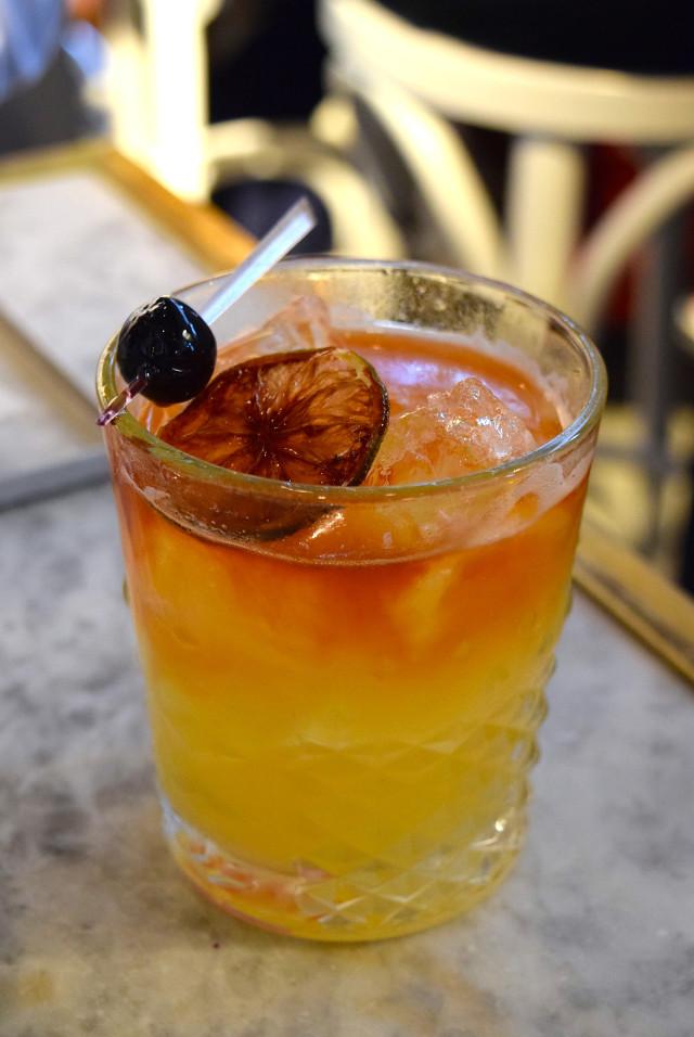 Smokey Mezcal Cocktail at Le Bab, Soho | www.rachelphipps.com @rachelphipps
