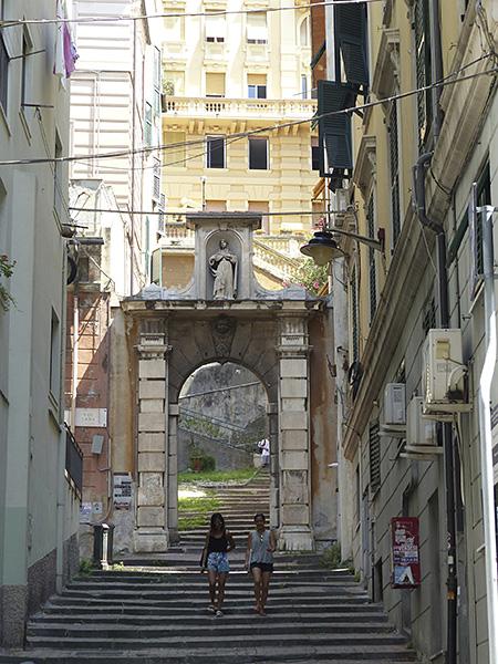 escaliers à Genova