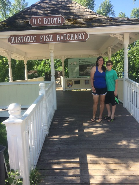 D.C. Booth fish hatchery
