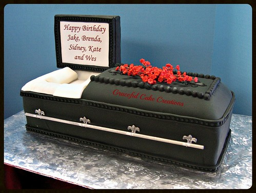 How To Make A Coffin Cake