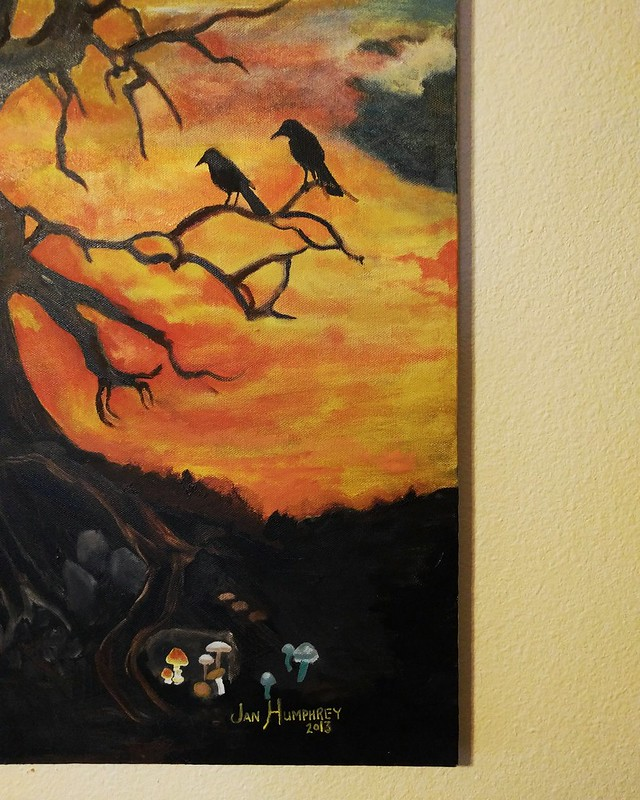 135. Handmade My mom made this amazing painting for my birthday 3 years ago. #cy365 #365project #365