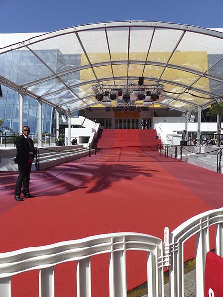 le tapis rouge … vide