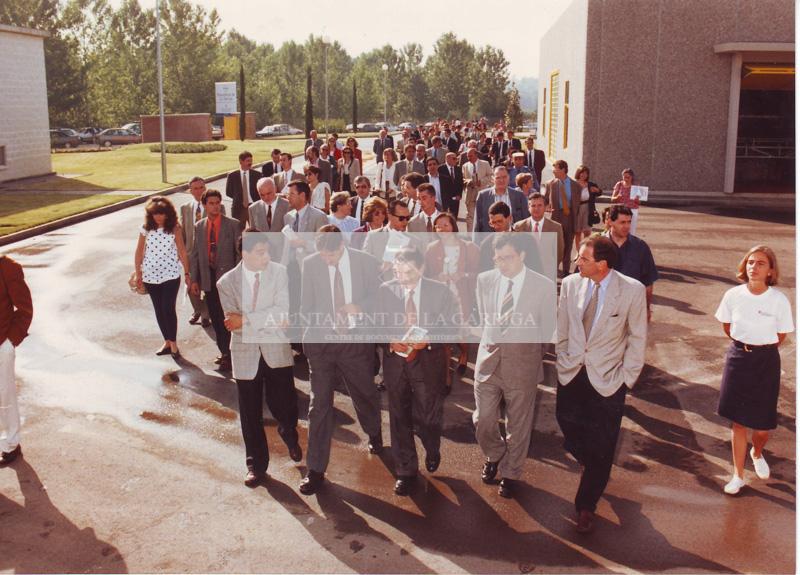 Inauguració depuradora 14/07/1993