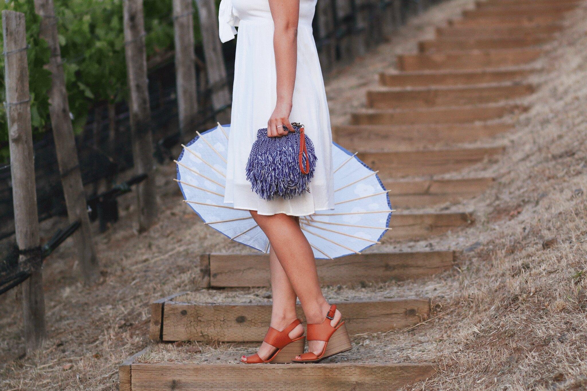simplyxclassic, miriam gin, nordstrom dress, little white dress, lwd, fashion blogger, napa valley, meritage resort, club monaco, where to stay in napa