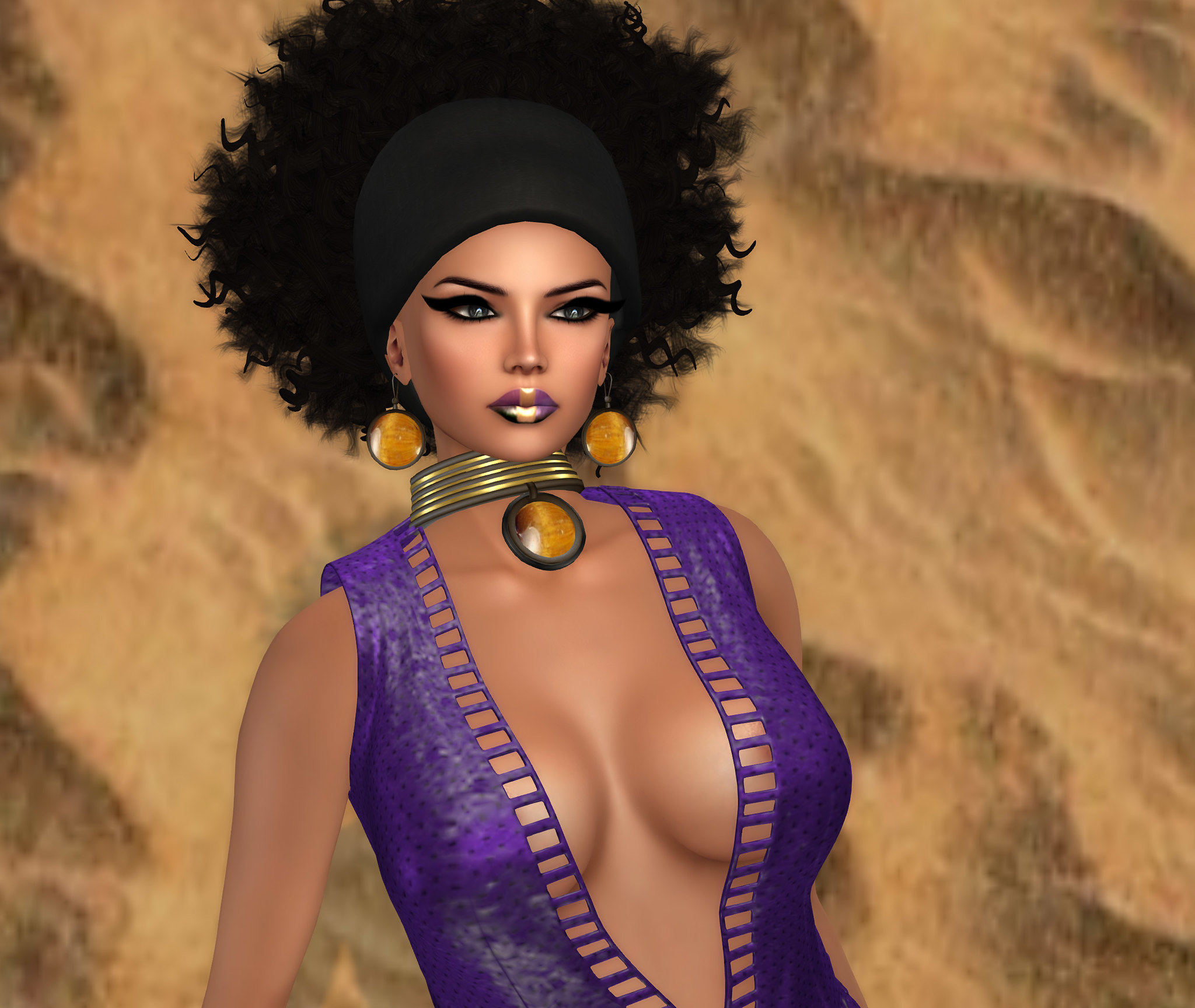 Prismatix make-up and Winehouse Mesh lashes, Oceanne @ Swank, Dress by Prism @ Swank