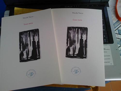 Luce nera libro poesie Nicola Vacca