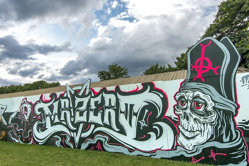 2016 Roskilde Festival Graffiti Zone
