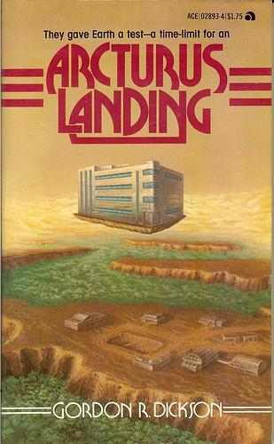 Arcturus Landing - Gordon R. Dickson - cover artist Gary Cooley
