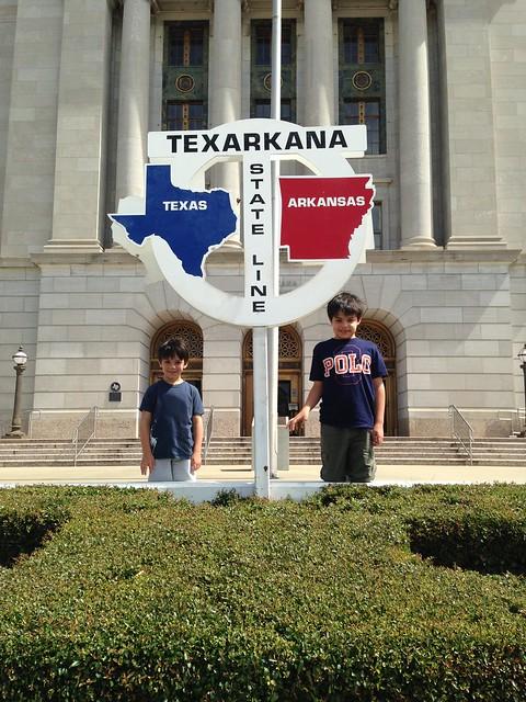 Shug and Shugie in Texarkana