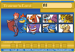 Trainer Card Johto Classic Masters Division