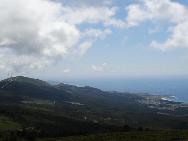 Serra do Barbanza en el monte Enxa
