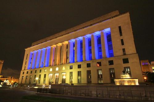 Tribute to Blue Angels Capt. Jeff Kuss - Nashville Davidson Courthouse