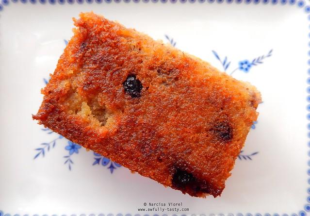 tea cakes cu migdale si afine