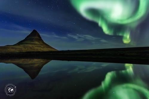 Aurora sul Kirkjufell