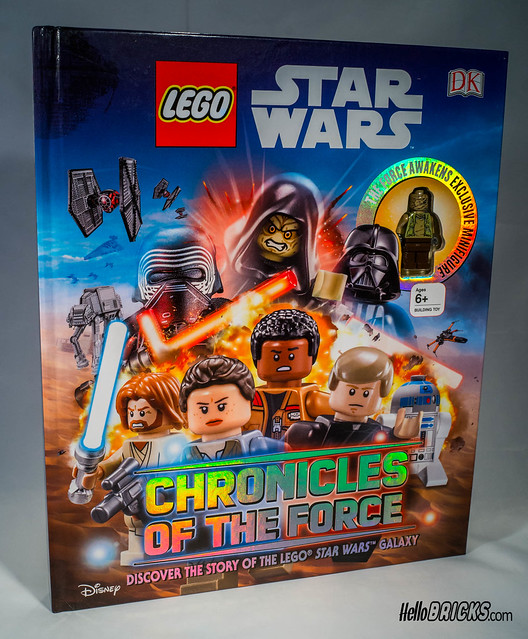 Review LEGO livre DK Star Wars Chronicles of the Force