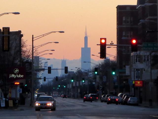 morar nos subúrbios de Chicago