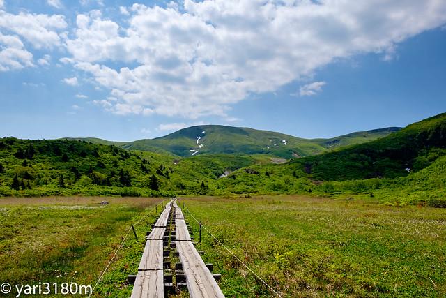 栗駒山へ向かう