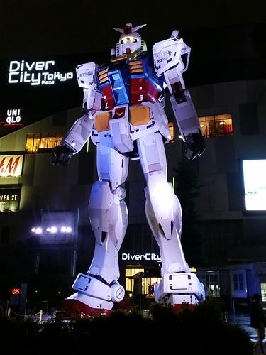 ひとまず今日のポータルその一「Gundam Mega Statue Odaiba」@お台場 #INGRESS