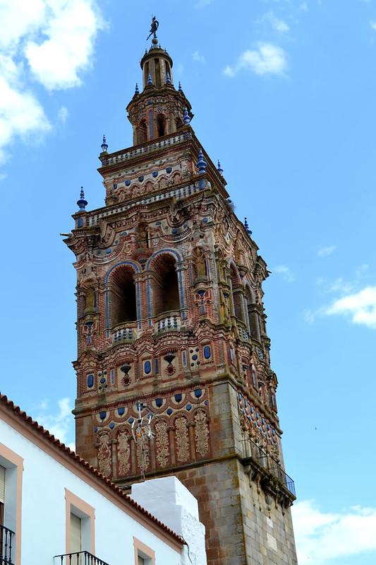 Torre de la Iglesia de San Bartolomé en Jerez de los Caballeros