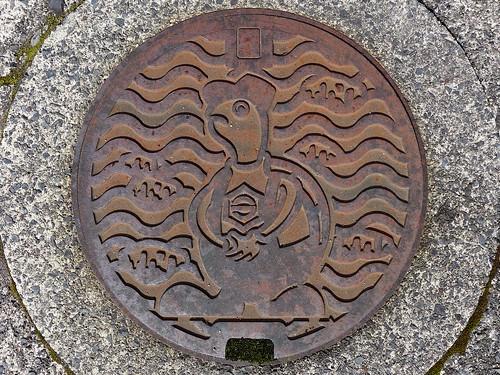 Kora Shiga, manhole cover 2 (滋賀県甲良町のマンホール2)