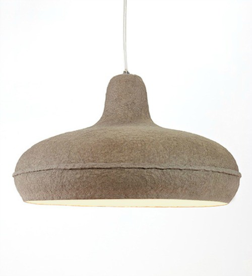 Paperpulp Lamp by Debbie Wijskamp