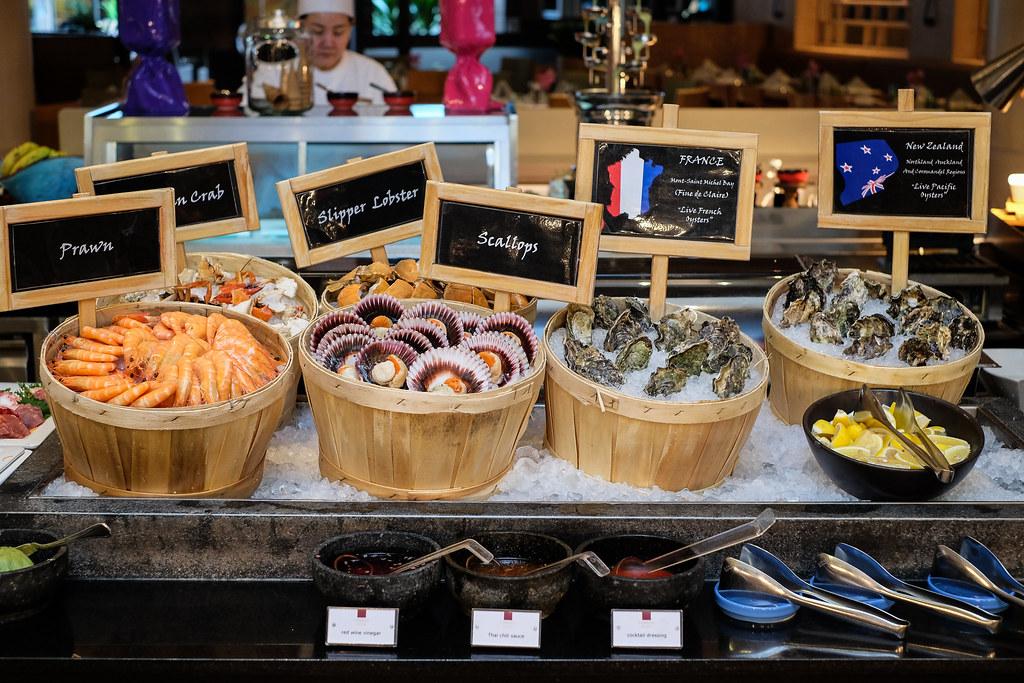 康拉德百年新加坡:海鲜