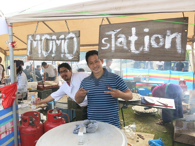 Momo Station's owner Amit