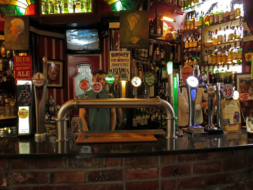 Belfast's Bittles Bar, with a great beer selection