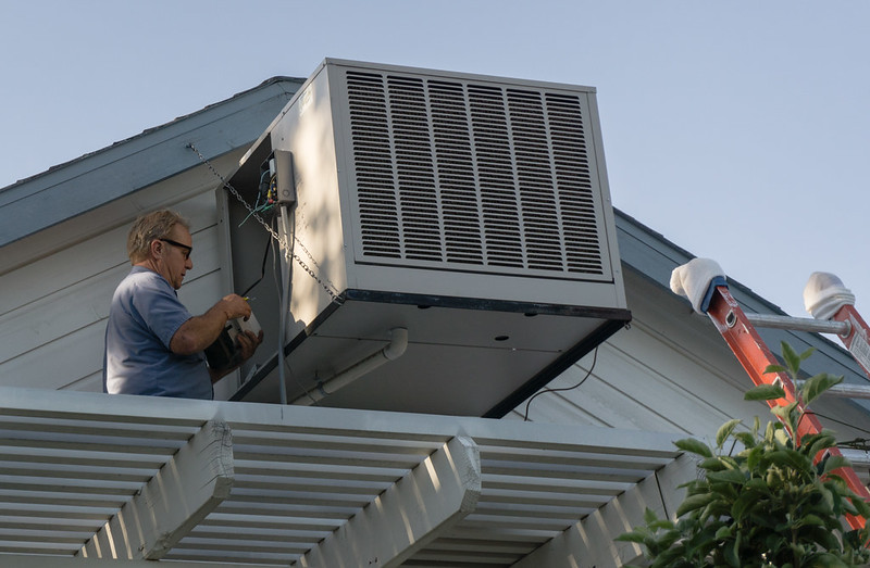 Fixing Evaporative Cooler