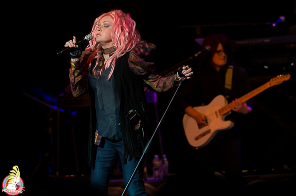Cyndi Lauper in Ann Arbor, Michigan