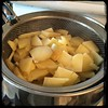 #ZucchiniBlossom #Mushroom #Potato Frittata  #Homemade #CucinaDelloZio - parboil the potatoes